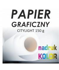 Papier CITY LIGHT 150g z nadrukiem 1440dpi - Druk Wielkoformatowy