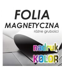 Folia Magnetyczna z nadrukiem - Druk Wielkoformatowy