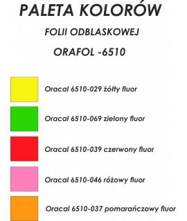 FOLIA FLUORESCENCYJNA ORAFOL 6510 + cięcie ploterem - Cięcie folii / OPOS