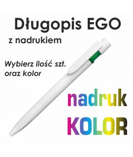 Długopis plastikowy DIUNA SOFT z nadrukiem