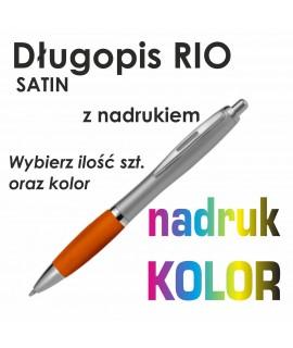 Długopis plastikowy RIO Satin z nadrukiem