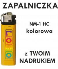 Zapalniczka z NADRUKIEM UV pełny kolor NM-1 HC kolorowa - NM-1 HC