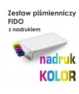 Zestaw piśmienniczy FIDO z nadrukiemULL COLOR - Strona główna