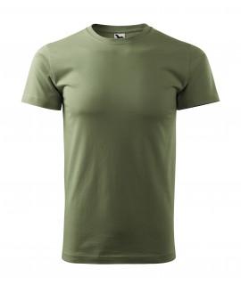 KOSZULKA MĘSKA KOLOROWA 129 BASIC z nadrukiem DTG - MALFINI - Koszulki męskie z nadrukiem
