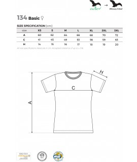 KOSZULKA 129 BASIC MĘSKA DTG