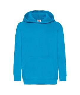 """Bluza z kapturem """"Kangurka"""" dziecięca kolorowa 280g z nadrukiem DTG - 620430 - Fruit of the loom - Z kapturem"""