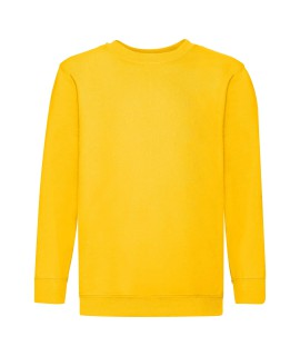 Bluza dziecięca klasyczna kolorowa 280g z nadrukiem DTG - 620410 - Fruit of the loom - Zwykłe